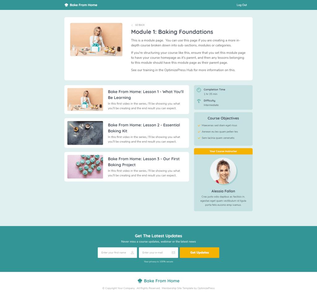 線上課程頁